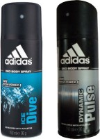 Adidas Ice Drive and Dynamic Pulse Combo Set(Set of 2)