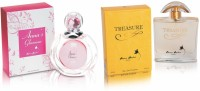 Anna Andre Paris Glamour & Treasure Perfume Gift Set(Set of 2)