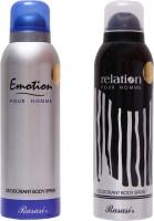 Rasasi Emotion Men Combo Set(Set of 2)