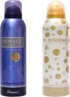 Rasasi Royale Blue Men::Relation Women Combo Set(Set of 2)