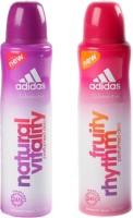Adidas Fruity Rhythm and Natural Vitality Combo Set(Set of 2)
