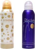Rasasi Relation Women::Blue Lady Combo Set(Set of 2)