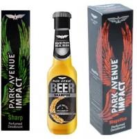 Park Avenue Sharp,Magnificco and Anti Dandruff Beer Shampoo Combo Set(Set of 3)