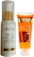 Jovees Argan oil sun guard lotion UVA UVB protection Water resistance SPF 60 PA+++(Set of 2)