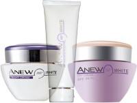 Avon Anew White 360 Illuminating Night Cream (30g) + Protective Day Cream SPF 20 PA++ (30g) + Cleanser (125g)(Set of 3)