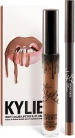 Kylie Jenner Lip kit - Brown Sugar(Set of 2) - Price 385 89 % Off