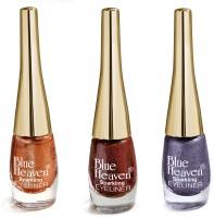 Blue Heaven Combo Of 3 Sparkeling Eyeliner(Set of 3)