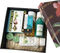 Soulflower Festive Tea Tree Body Milk Bath Set(Set of 6)