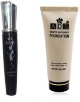 ADS WaterProof Eyeliner, Foundation(Set of 2) - Price 148 64 % Off
