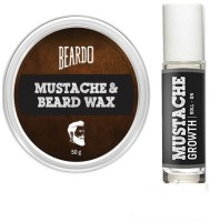 Beardo Wax And Roll on(Set of 2)