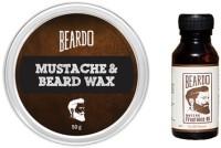 Beardo oldfashioned oil and Wax(Set of 2)