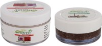 Greenviv 1 Rose & Geranium Face Cream (50 gm) and 1 Chocolate & Vanilla Lip Scrub (50 gm)(Set of 2)