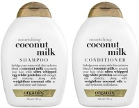 OGX Ogx Coconut Milk Shampoo+Conditioner(Set of 2)