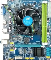 Maxsonic H55I5 Combo Motherboard(Blue)
