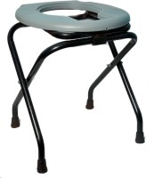 Life Line Services Delux Commode Chair(Grey) - Price 585 80 % Off