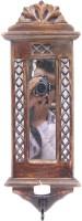 Artist Haat Wooden Handicraft Jharoka Wall d�cor cum mirror cum candle stand - Price 898 85 % Off