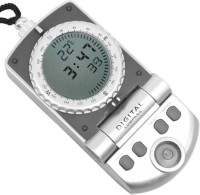 JM Digital Thermometer Compass(Grey)