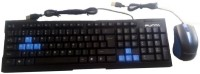 View Punta P-KB515 WIRED KEYBOURD ANDMOUSE Combo Set Laptop Accessories Price Online(Punta)