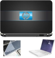 View Creative Art Hp Blue in Grey Strip Combo Set(Multicolor) Laptop Accessories Price Online(Creative Art)