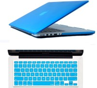 View Gorogue Soft-Touch Plastic Shell 3 in 1 Case for Apple MacBook Pro 15 With Retina Display with Logo Cutout Combo Set Laptop Accessories Price Online(Gorogue)