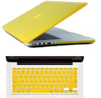 View Gorogue Soft-Touch Plastic Shell 3 in 1 Case for Apple MacBook Pro 13 With Retina Display with Logo Cutout Combo Set Laptop Accessories Price Online(Gorogue)