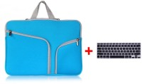LUKE ipper Briefcase Soft Neoprene Handbag Sleeve Bag Cover Case for MACBOOK AIR 13.3 inch With Free Keyboard Protector Combo Set