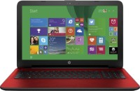 HP 15-ac035TX (NotebooK) (Core i5 (5th Gen)/ 4GB/ 1TB/ Win8.1/ 2GB Graph) (M9V15PA)(15.6 inch, Flyer Red Color With Diamond & Cross Brush Pattern, 2.14 kg)