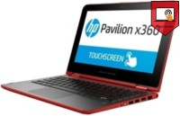 HP Pentium Quad Core 4th Gen - (4 GB/1 TB HDD/Windows 8 Pro) 11-k015TU x360 2 in 1 Laptop(11.6 inch, Red, 1.46 kg)