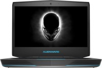 Alienware 14 Core i7 4th Gen - (8 GB/1 TB HDD/Windows 8.1/2 GB Graphics) AW14781TB2A2 Laptop(13.86 inch, SIlver, 2.774 kg)