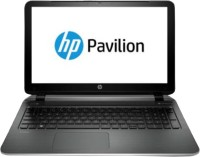 HP Pavilion 15-p017TU Notebook (4th Gen Ci3/ 4GB/ 1TB/ Win8.1) (J2C44PA)(15.6 inch, Imprint Natural SIlver Color With Texture Linear Pattern, 2.44 kg)