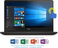 Dell Inspiron 7000 Core i7 6th Gen - (16 GB/1 TB HDD/128 GB SSD/Windows 10 Home/4 GB Graphics) 7559 Gaming Laptop(15.6 inch, Black, 2.57 kg)