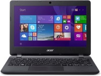 acer E Series Celeron Dual Core 4th Gen - (2 GB/500 GB HDD/Windows 10 Home) ES1-131-C8RL Laptop(11.6 inch, Diamond Black, 1.2 kg)