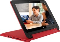 HP Pavilion 11-n032tu x360 Netbook (4th Gen PQC/ 4GB/ 500GB/ Win8.1) (J8B99PA)(11.49 inch, Brilliant Red, 1.4 kg)