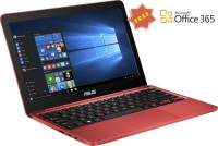 Asus Eeebook Atom Quad Core - (2 GB/32 GB EMMC Storage/Windows 10 Home) X205TA Laptop(11.6 inch, Red, 1 kg)