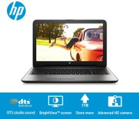 HP Core i3 5th Gen - (4 GB/1 TB HDD/DOS) 15-AC184TU Laptop(15.6 inch, Jack Black, 2.2 kg)
