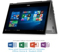Dell 5000 Core i7 6th Gen - (8 GB/1 TB HDD/Windows 10 Home) 5368 2 in 1 Laptop(13.3 inch, Grey)