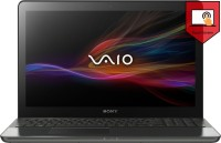 Sony Vaio Svf15A13Snb SVF15A13SNB Laptop (Windows 8, 4GB RAM, 750GB HDD, Intel Core i5, Black)