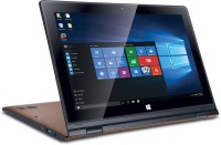 Iball Flip X5 Atom Quad Core 5th Gen - (2 GB/32 GB EMMC Storage/Windows 10) Flip-x5 2 in 1 Laptop(11.6 inch, Brown, 1.37 kg)