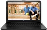 HP Pentium Quad Core 4th Gen - (4 GB/500 GB HDD/Windows 10 Home) 15-AC647TU Laptop(15.6 inch, Jack B