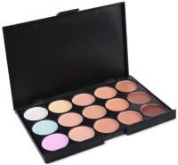 Looks United Comouflage Face Concealer Fashion Makeup Palette  Concealer(15 Mix Color)