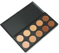Looks United 10 Color Cosmetics Cream Complete Coverage  Concealer(Multi)