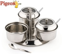 Pigeon Pickle 3 Piece Condiment Set(Stainless Steel)