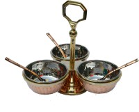Veda Home & Lifestyle 7 Piece Condiment Set(Copper)