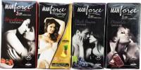 Manforce Chocolate,Pineapple, Strawberry & BlackGrapes Condom(Set of 4, 80S)
