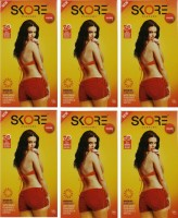 Skore Warm Condom(Set of 6, 60S)
