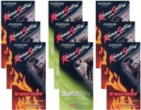 KamaSutra Intensity, Superthin - UPFK200368 Condom(Set of 9, 108S)