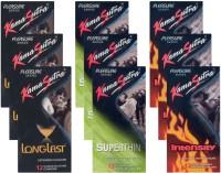 KamaSutra Longlast, Superthin, Intensity - UPFK200404 Condom(Set of 9, 108S)