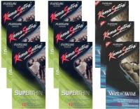 KamaSutra Superthin, Wet n Wild - UPFK200330 Condom(Set of 9, 108S)