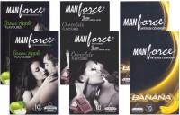 Manforce GreenApple, Chocolate, Banana - CPFK1907 Condom(Set of 6, 60S)