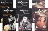 Manforce Butterscotch, Chocolate, Jamin - CPFK1745 Condom(Set of 6, 60S)